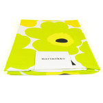 Marimekko - Unikko Tea Towel, set of 2, white / yellow / lime