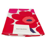 Marimekko - Unikko Tea Towel, set of 2, white / red