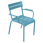 Fermob - Luxembourg Armchair, stackable, turquoise