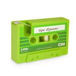 j-me - cassette Tape Dispenser, green
