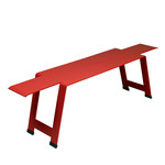 Fermob - Origami Bench, poppy red