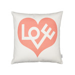 Vitra - Graphic Pillow Love 40 x 40 cm, pinkd