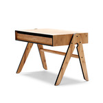 We do wood - Geo's Table, black