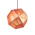 Tom Dixon - Etch Pendant Lamp, copper