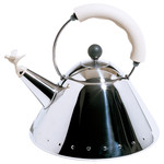 Alessi - Bird Kettle 9093 W, polished / white
