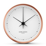 Georg Jensen - Henning Koppel Wall Clock Ø 22 cm, copper / white