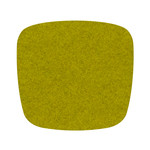 Hey Sign - Felt Cushion Eames Plastic Armchair, verde 5mm, without anti-slide coating