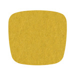 Hey Sign - Felt Cushion Eames Plastic Armchair, curry 2 x 5mm sewn, without anti-slide coating