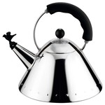Alessi - Bird Kettle 9093 B, polished / black