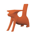 Magis Me Too - Le Chien Savant Children's Chair / Desk, orange