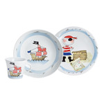 Kahla - Magic Grip Kids Set, 3 pcs., Treasure-trove Pirate
