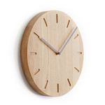 Applicata - Watch:Out Wall Clock, City Grey