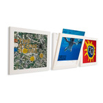 Art Vinyl - Flip Frame 3 piece set, white