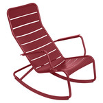 Fermob - Luxembourg Rocking Chair, chili