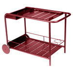 Fermob - Luxembourg Serving Trolley, chili