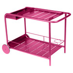 Fermob - Luxembourg Serving Trolley, fuchsia