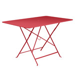 Fermob - Bistro Folding Table, rectangular, 117 x 77 cm, poppy red