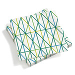 Vitra - Paper Napkins large, Grid green