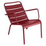 Fermob - Luxembourg Low Armchair, chili