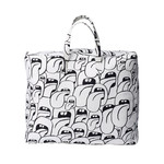 Hay - Got this licked Beach Bag, white