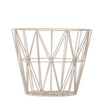 ferm Living - Wire Basket small, grey