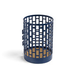 Hay - Pinorama Pen Holder, dark blue