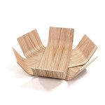BeDesign - Lily bowl small, natural oak wood