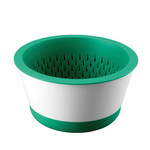 Thomas - Bowl with Colander 22 cm (2-pcs.), green