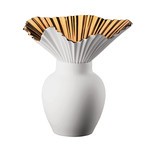 Rosenthal - Falda Vase, copper titanium coating