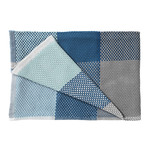 Muuto - Loom Throw, blue
