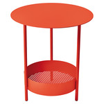 Fermob - Salsa Side Table, poppy red