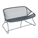 Fermob - Sixties Bench, storm grey/slate