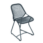 Fermob - Sixties Chair, strom grey/slate