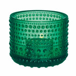 Iittala - Kastehelmi Votive, emereld green 64 mm