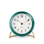 Rosendahl - AJ Station Alarm Clock, green / white