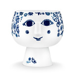 Bjørn Wiinblad - Pot plant holder with base Juliane, Ø 16 cm, blue