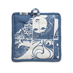 Bjørn Wiinblad - Pot Holder (set of 2), blue