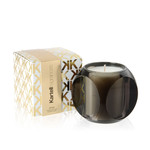 Kartell - scented candle Dice, smoke-grey / drops