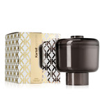 Kartell - scented candle Nikko, smoke-grey / drops