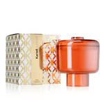 Kartell - scented candle Nikko, orange / neroli