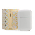Kartell - scented candle Oyster, white / ghost diamond
