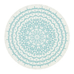 Vitra - Tablecloth Lace, grey / blue
