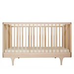 Kalon - Baby Bed Caravan Crib, maple / maple natural oiled