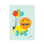 byGraziela - Art Prints Circus A3, Lion