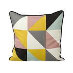 ferm Living - Remix Cushion 50 x 50 cm, yellow