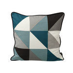 ferm Living - Remix Cushion 50 x 50 cm, blue