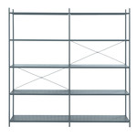 ferm Living - Punctual Shelving System 2x5, dark blue