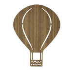 ferm Living - Hot-Air Balloon Lamp, smoked oak