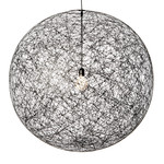 Moooi - Random Light LED Suspension Lamp, L, black