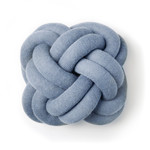 Design House Stockholm - Knot Cushion, blue
